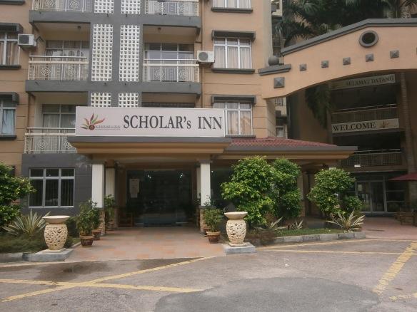 Sebuah hotel nama Scholars Inn dalam kampus UTM Sekudai Johor