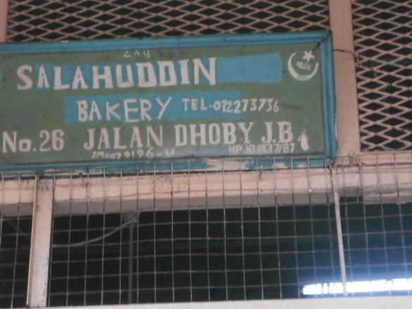 Kedai roti lama, India Muslim di Jalan Dhoby, JB.